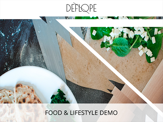 Food & LifeStyle Demo
